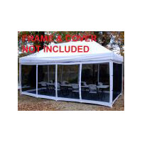 King Canopy Instant Canopy Explorer 10 x 20 Screen Room Only